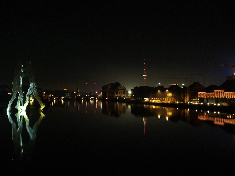 Blick von der Elsenbrücke