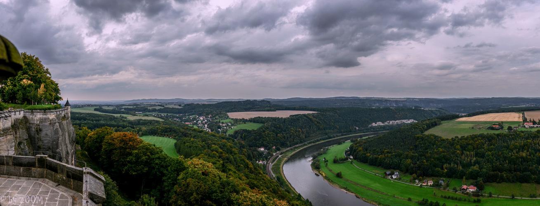 Blick von der Festung Königstein P