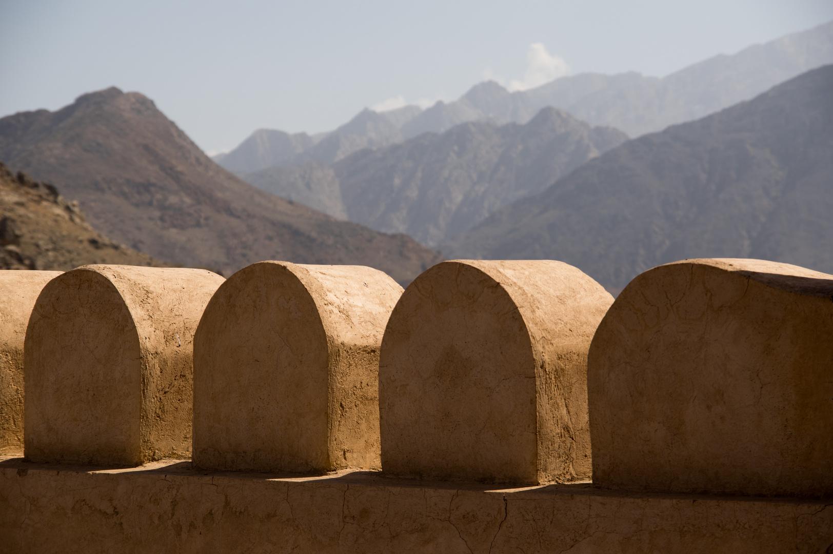 Blick von der Festung Nakhl