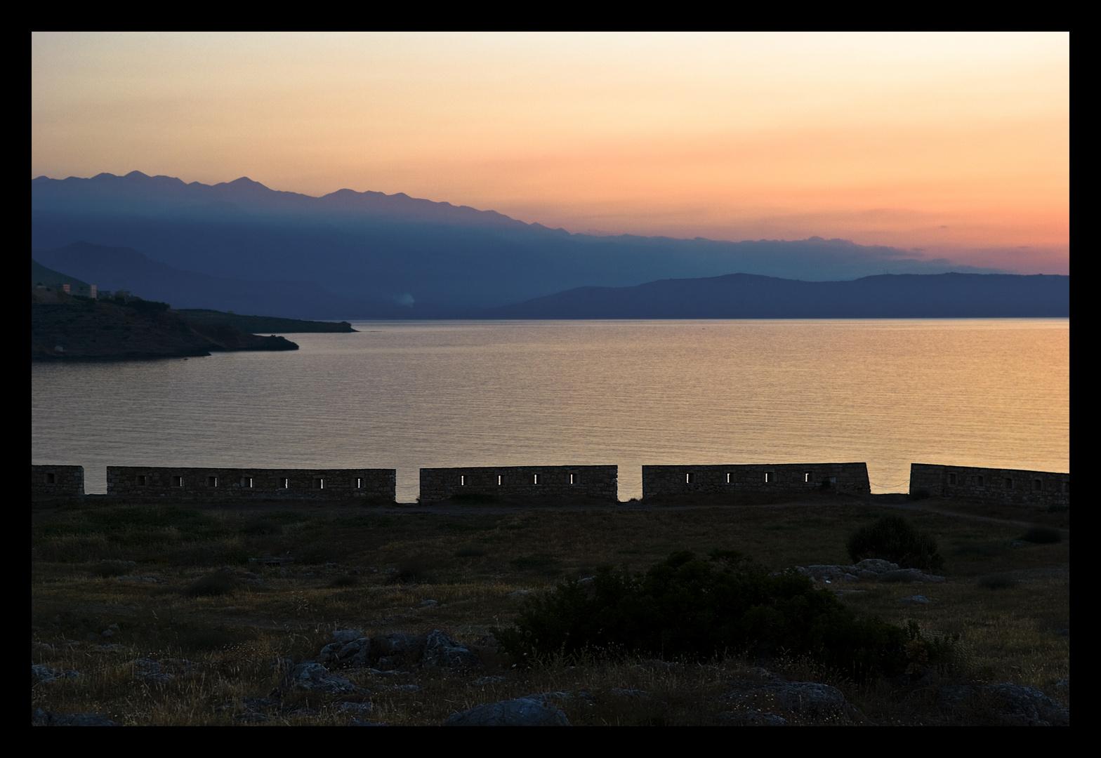 Blick von der Festung Rethimnon