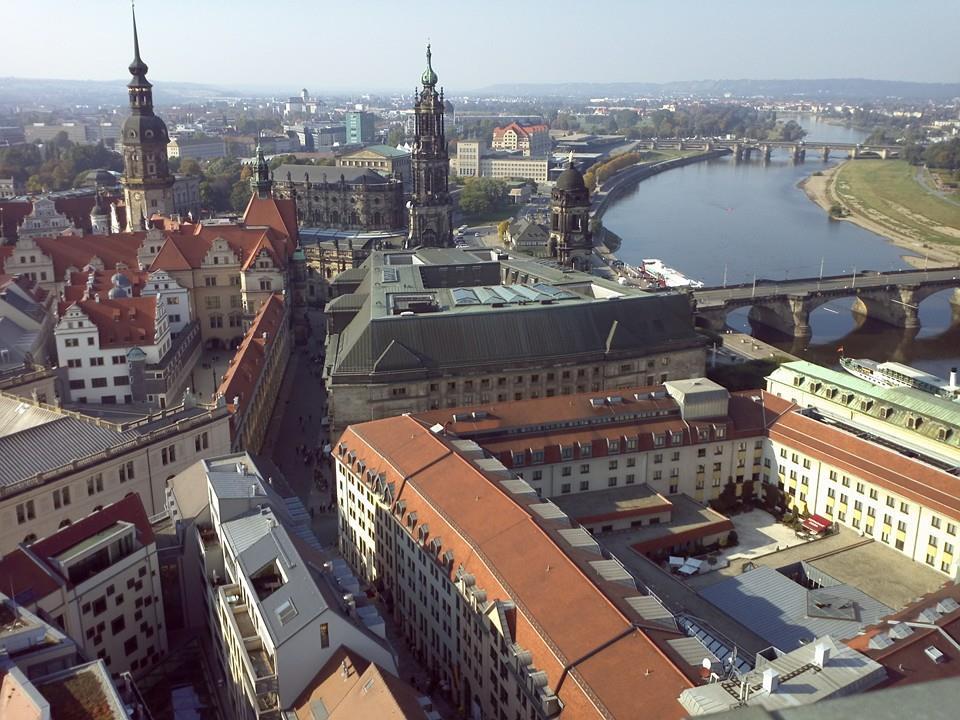 Blick von der Frauenkirche