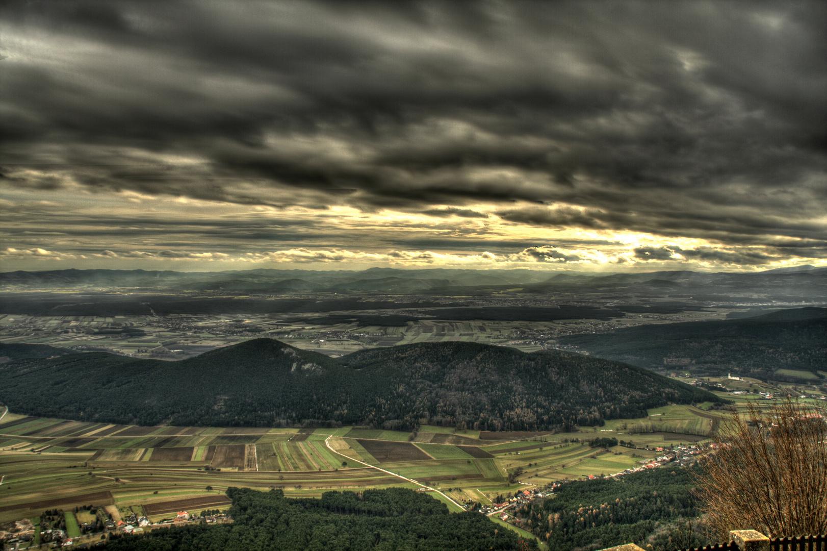 Blick von der ''HOHEN Wand'' in Niederösterreich...