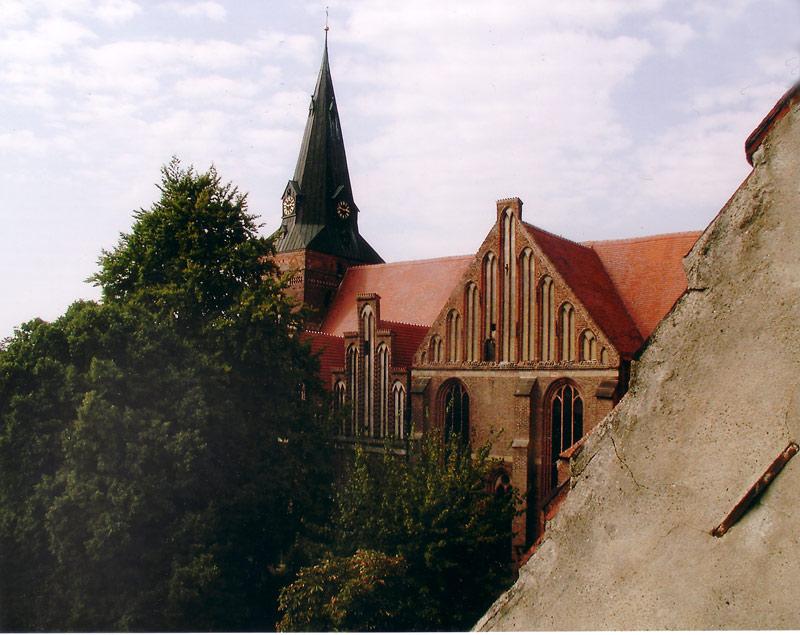 Blick von der Lateinschule