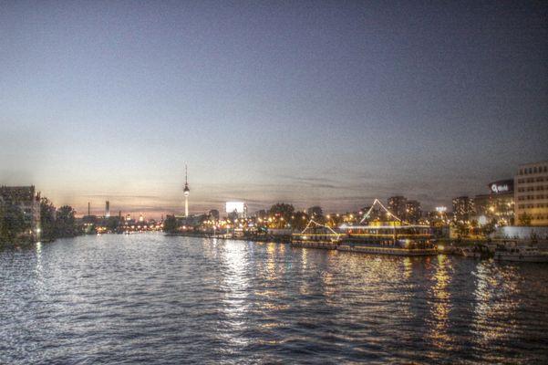 Blick von der Oberbaumbrücke Berlin