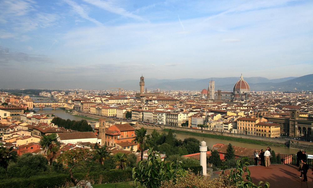 Blick von der Piazzale Michelangelo