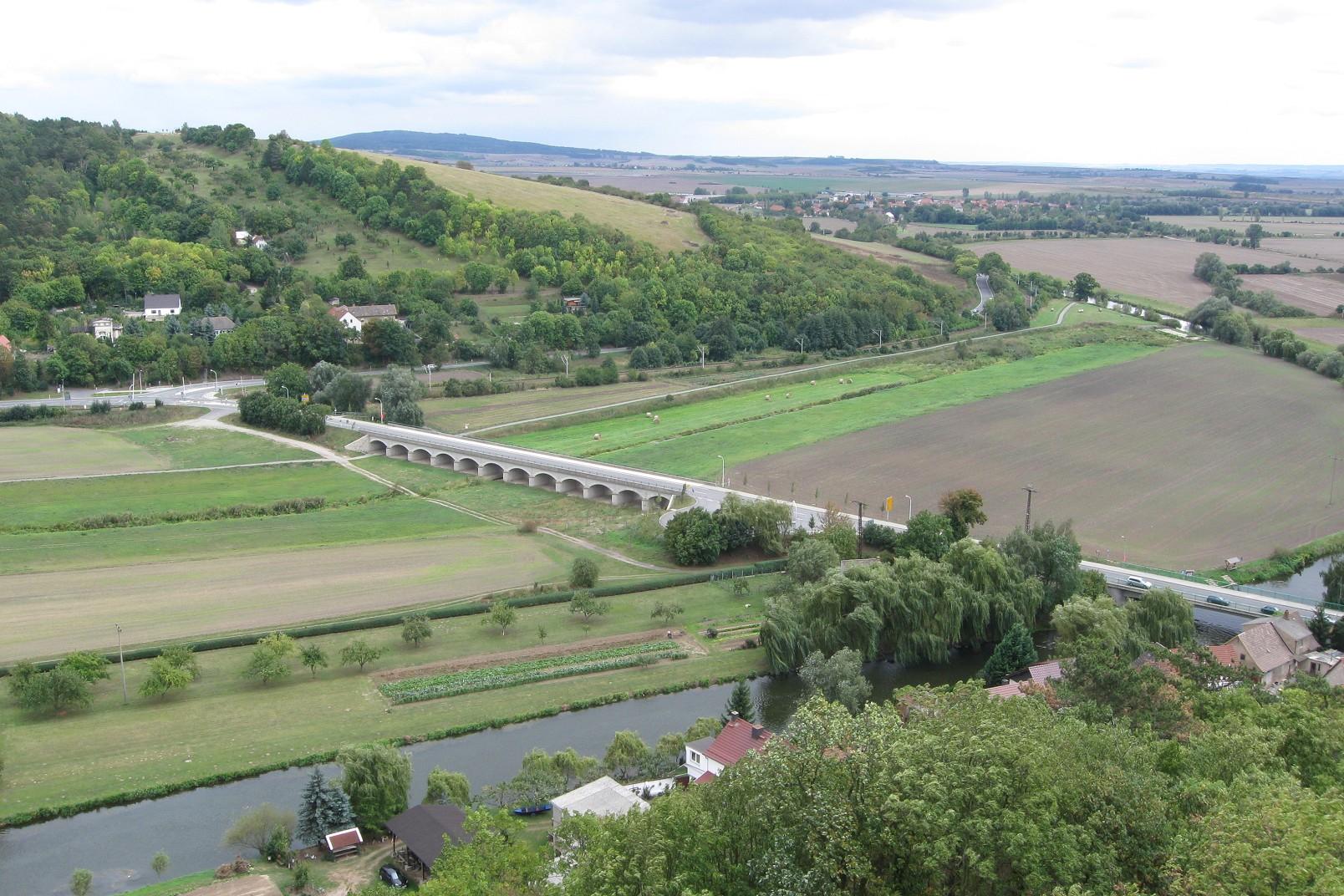 Blick von der Sachsenburg