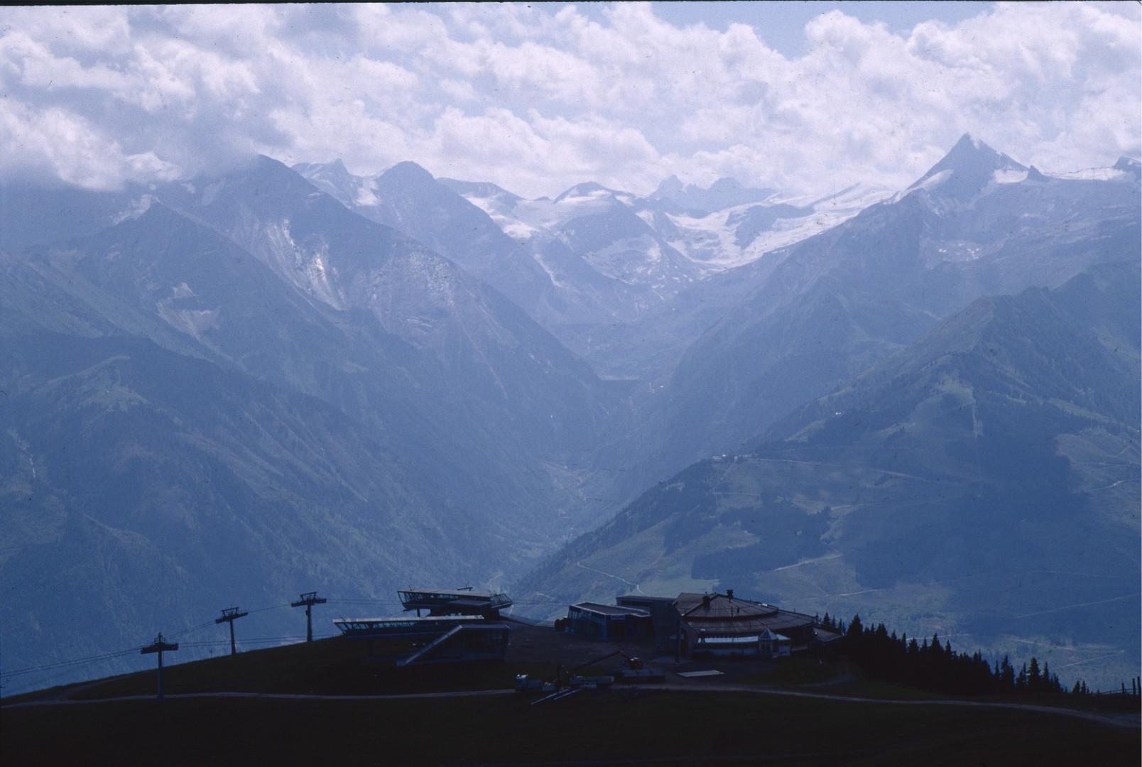 Blick von der Schmittenhöhe ins Kapruner Tal