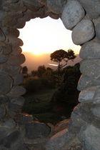 Blick von der Senrena Lodge in den Ngorongorokrater