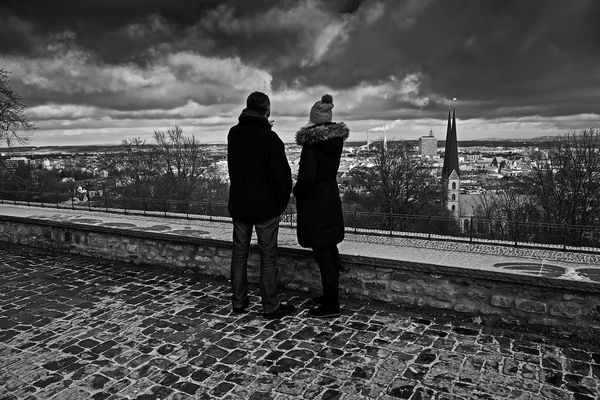 Blick von der Sparrenburg, Bielefeld