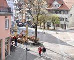 Blick von der Stadtmauer - Herbstende in Wangen / Allgäu