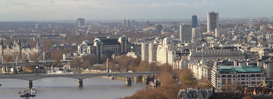 Blick von der St.Paul`s Cathedral 2