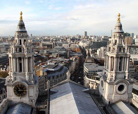 Blick von der St.Paul`s Cathedral 4