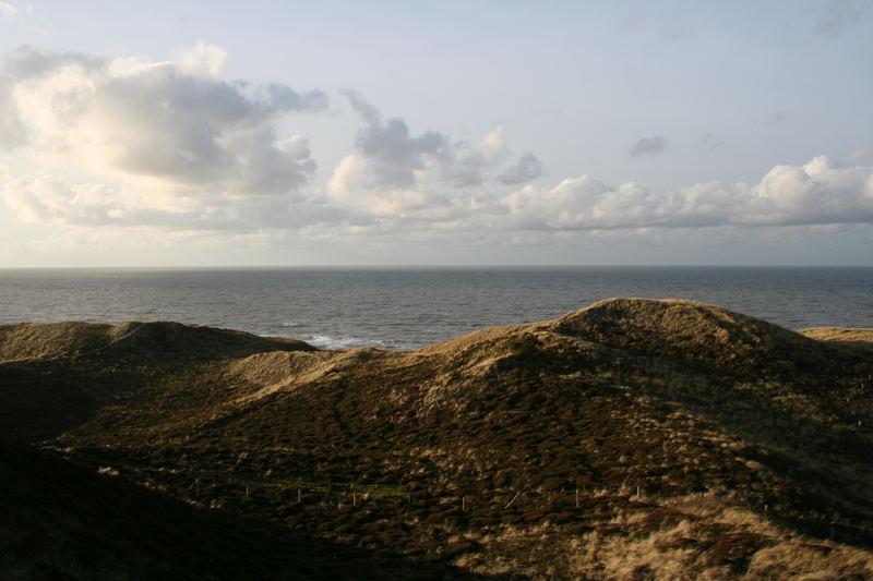Blick von der Uwe-Düne auf Sylt