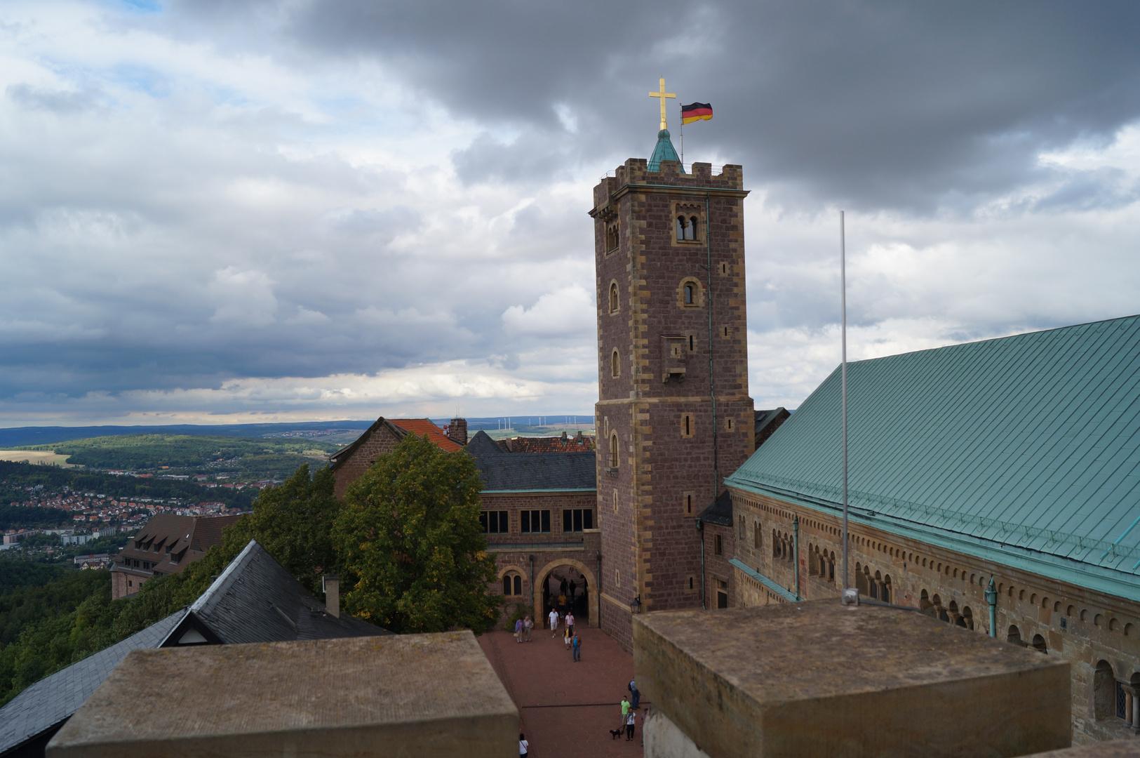 Blick von der Wartburg