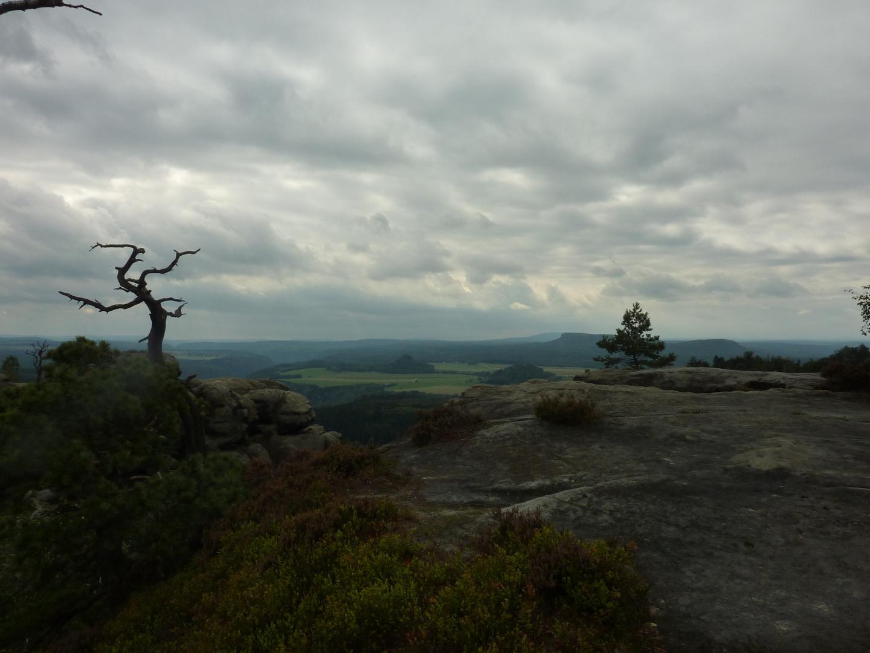 Blick von der Wenzelwand Aussicht