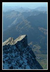 Blick von der Zugspitze 1