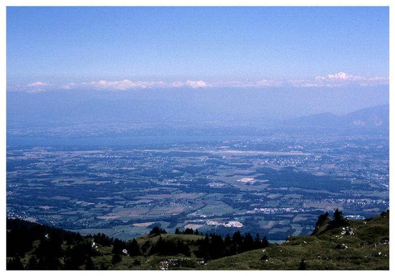 Blick von Frankreich, über die Schweiz, nach Frankreich :o)