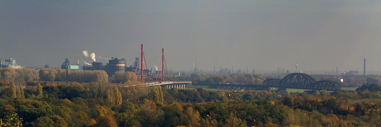 Blick von Halde Rheinpreussen