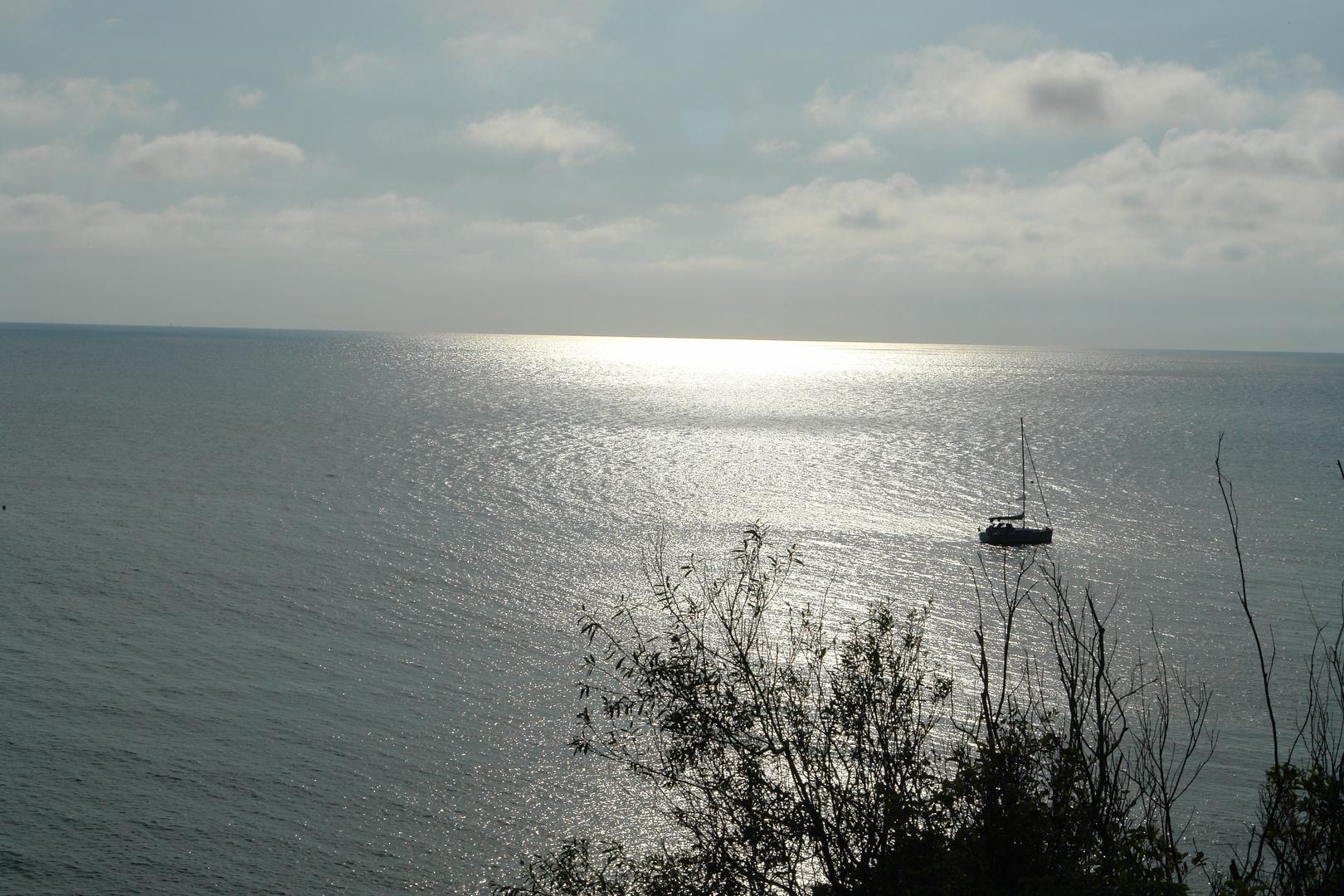 Blick von Hiddensee