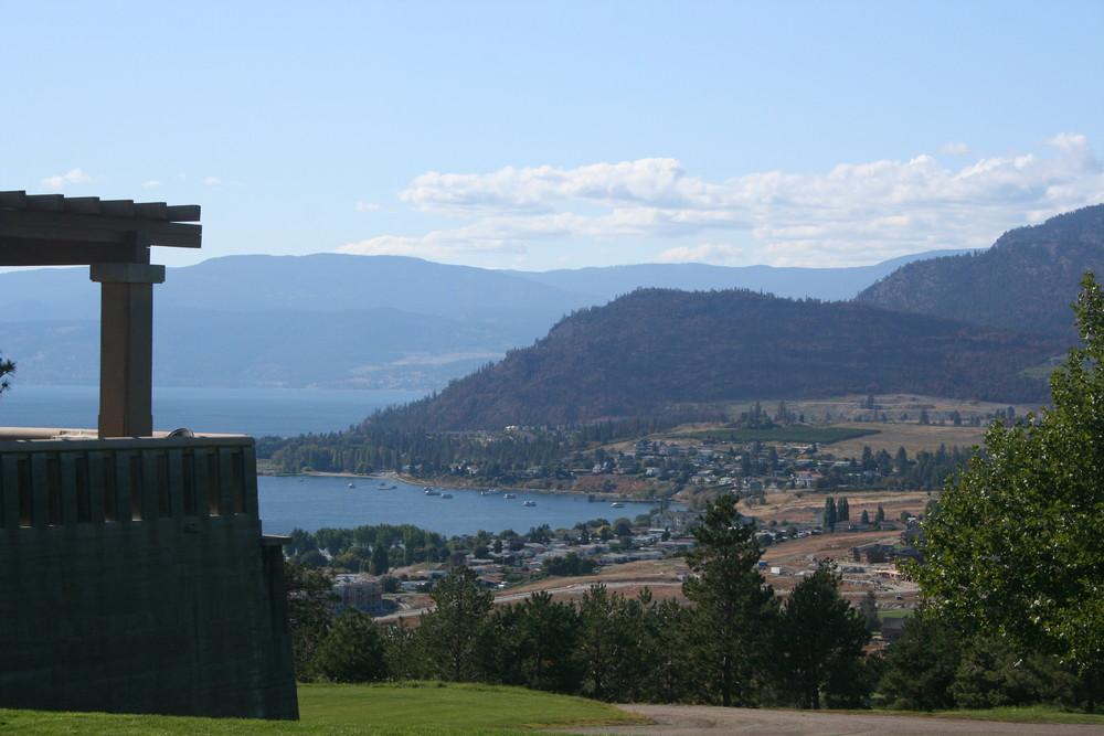Blick von Mission Hill Winery