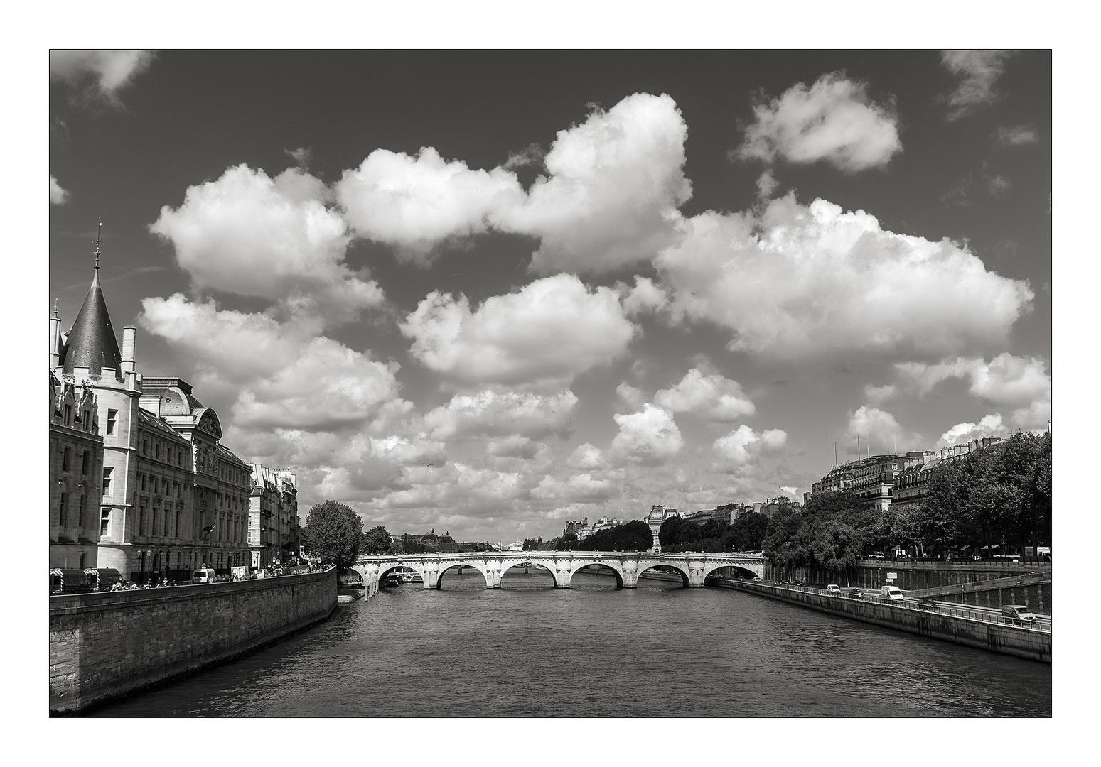 Blick von Pont au Change