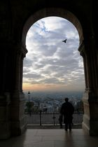 Blick von Sacre Coeur auf Paris