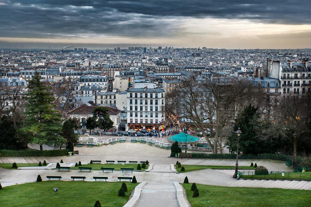 Blick von Sacré-Cœur...