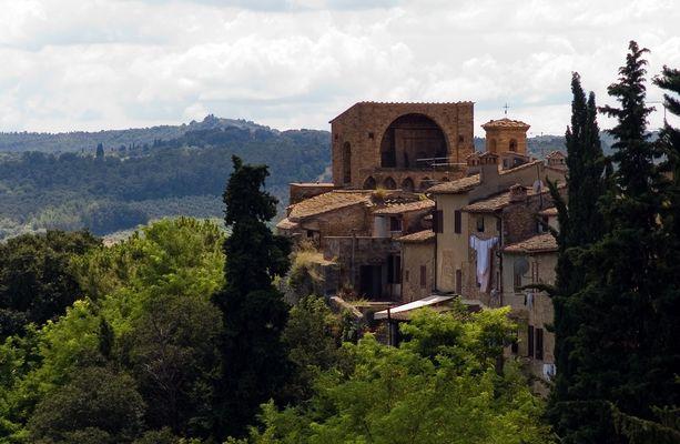 Blick von San Gimgiano