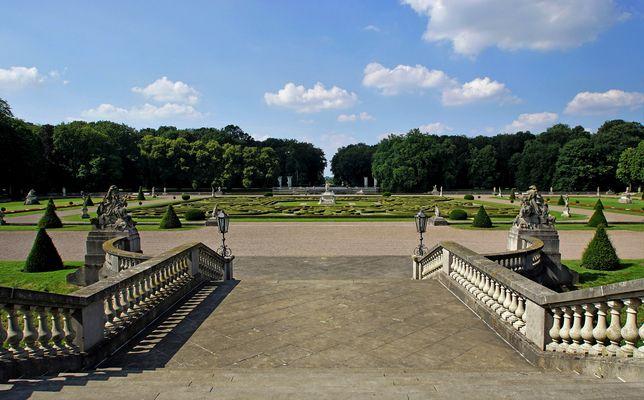 Blick von Schloss Nordkirchen...