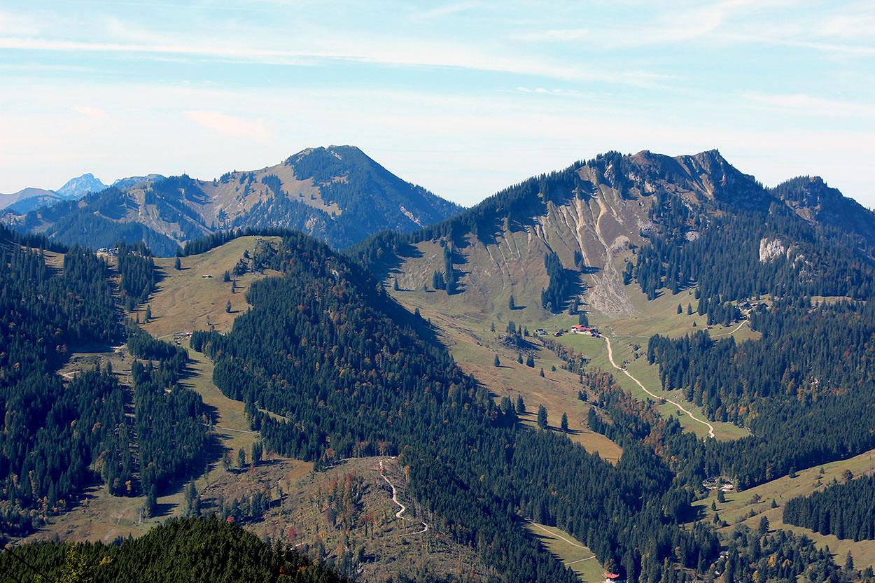 Blick von Taubenstein 1692m
