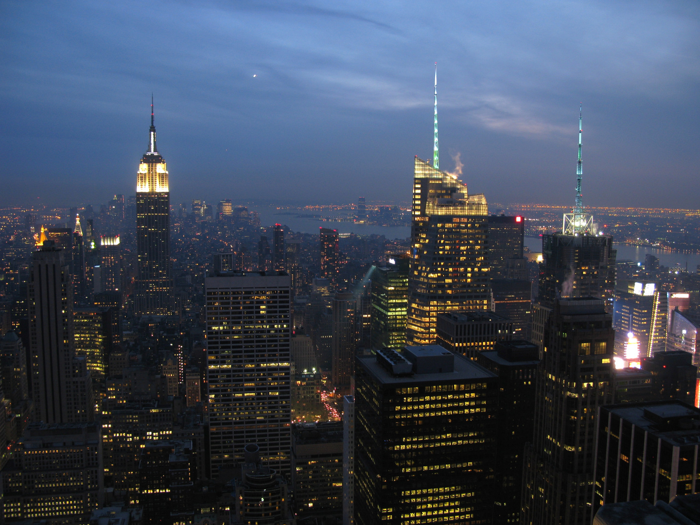 Blick von Top of the Rock