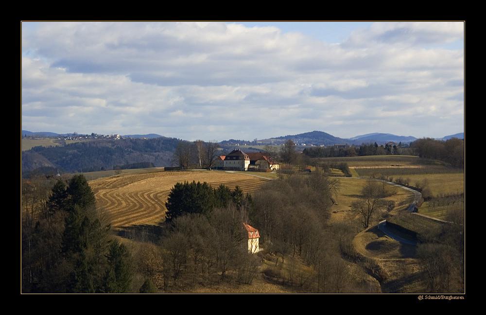 Blick von Veste Oberhaus...