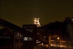 Blick von Zollverein bei Nacht