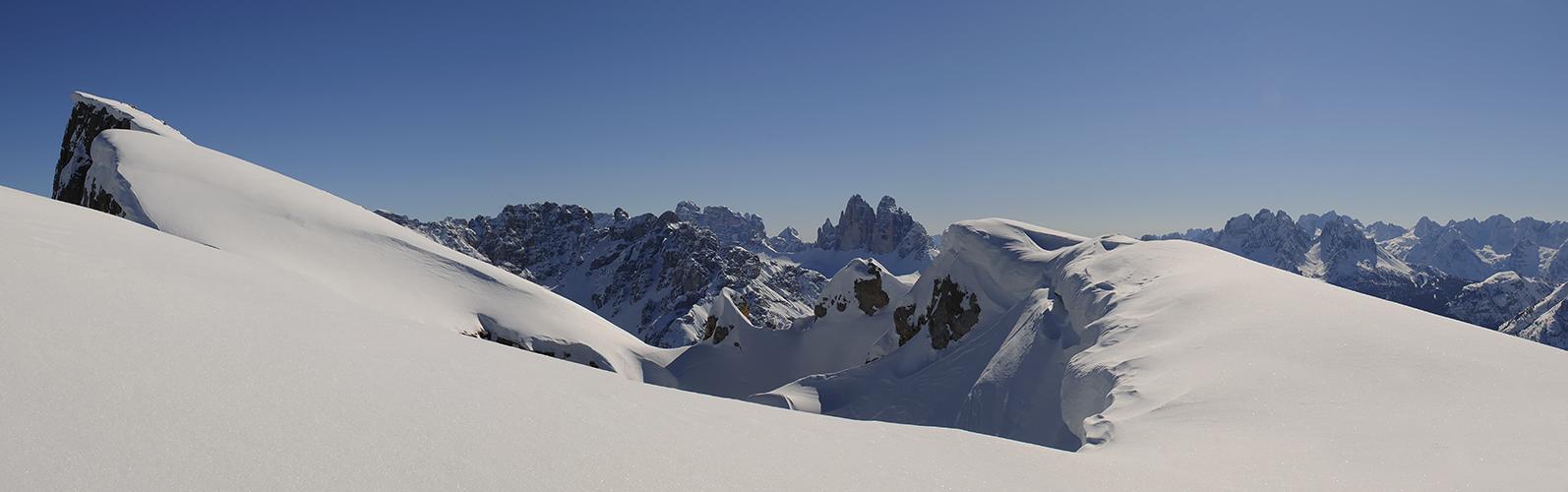 ... Blick zu den Drei Zinnen - Südtirol ...