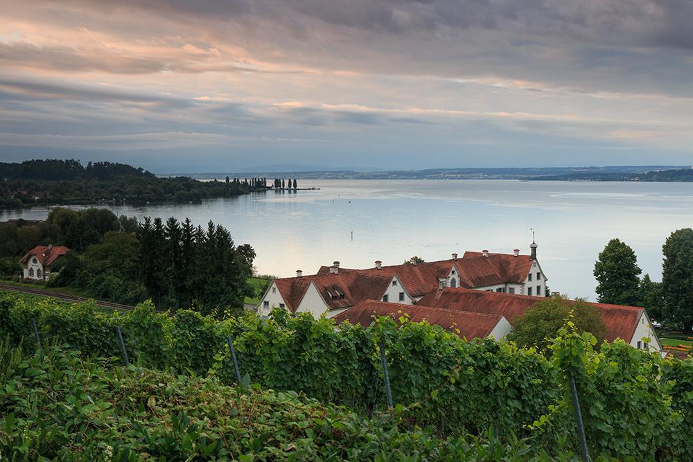 Blick zum Bodensee...