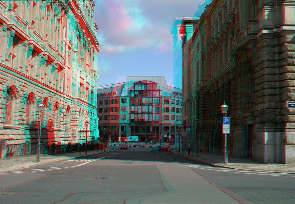 Blick zum Burgplatz, Leipzig