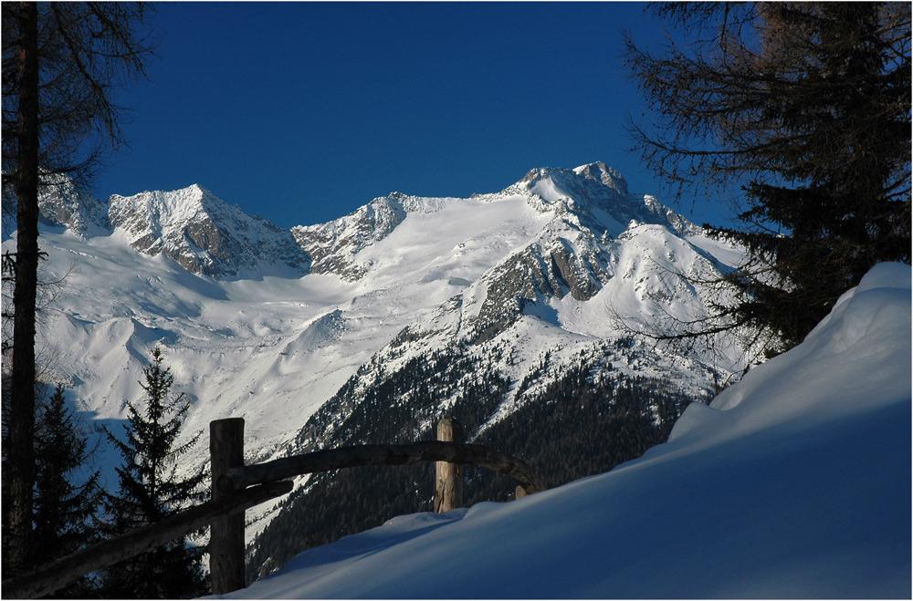 Blick zum Großen Löffler 3376 m