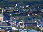 Blick zum Hafen Dortmund