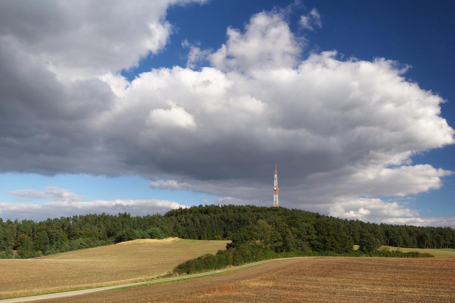 Blick zum Hardtberg