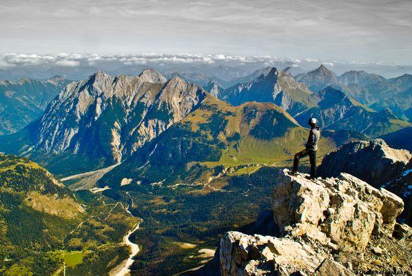 Blick zum Karwendel