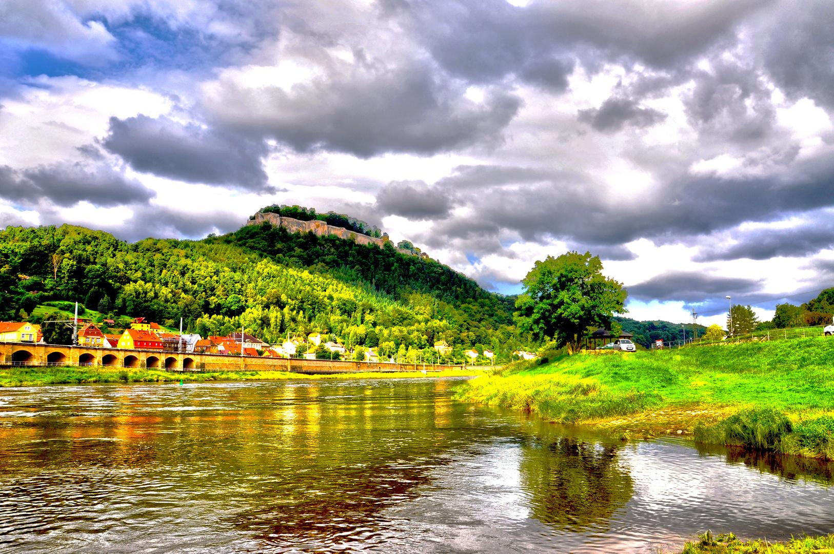 Blick zum Königstein