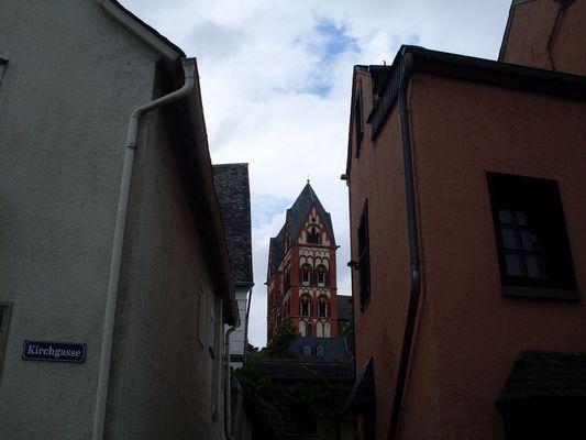 Blick zum Limburger Dom