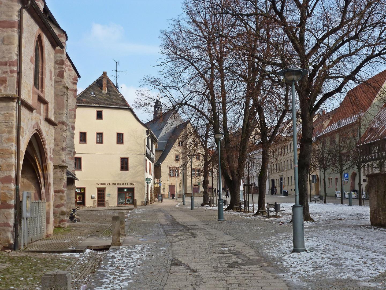 Blick zum Rathaus