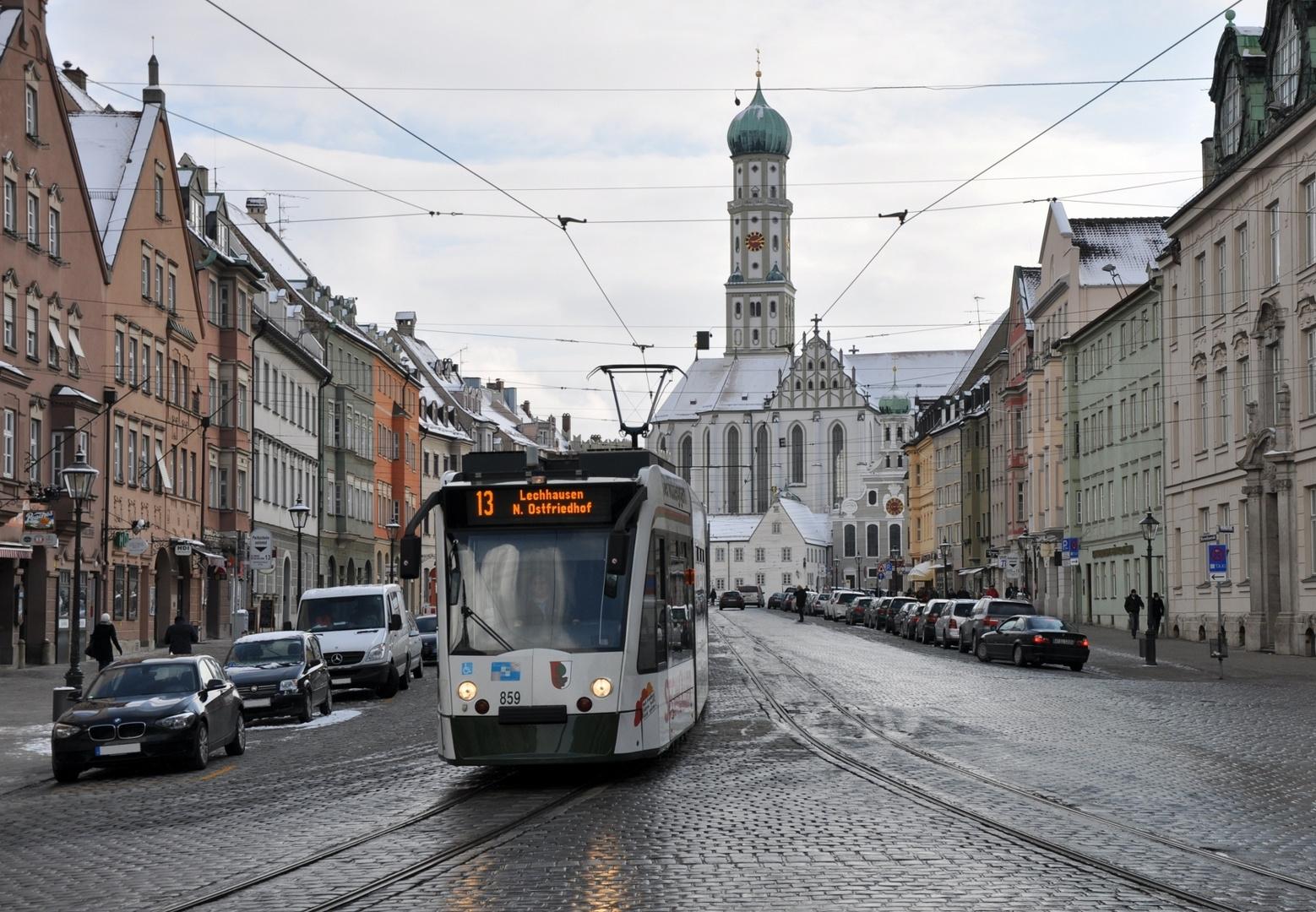 Blick zum Ulrichplatz (II)