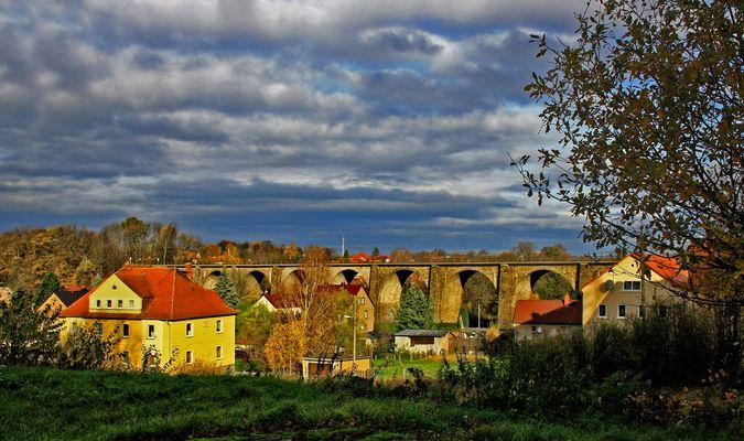 blick zum viadukt