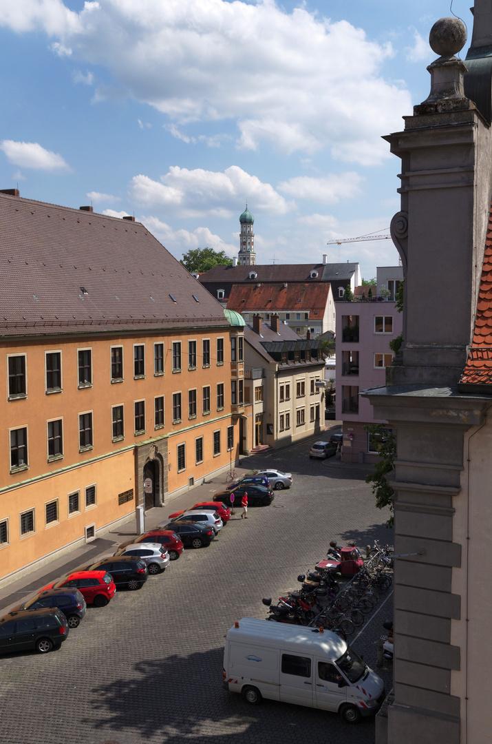 Blick zum Zeugplatz, Juni 2014