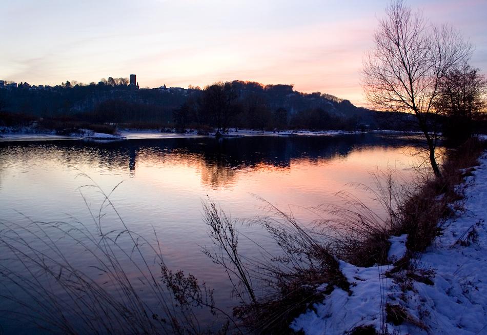 Blick zur Burg Blankenstein