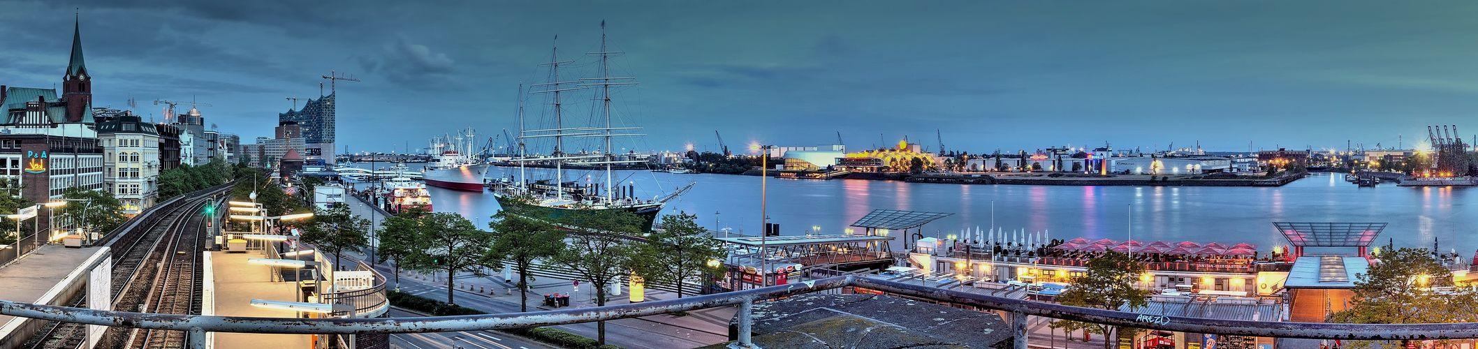 - - Blick zur Elbe - -