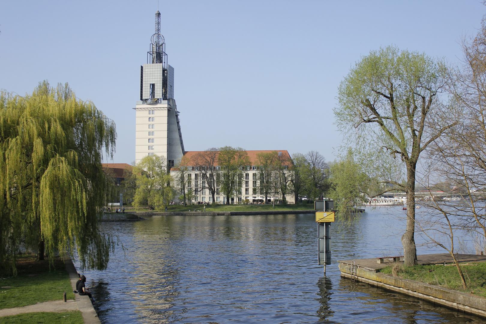 Blick zur Heilig Geist Kirche I