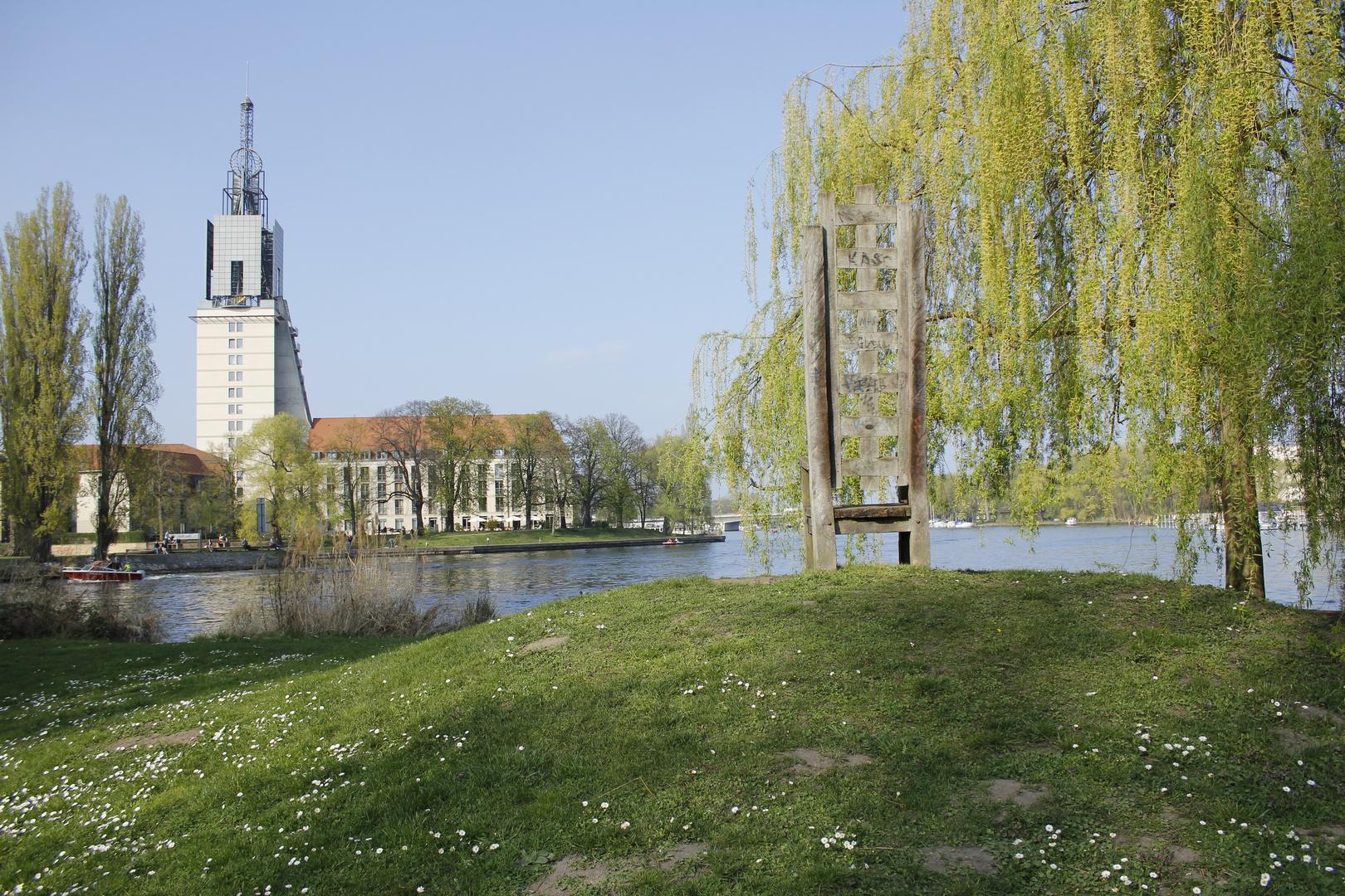 Blick zur Heilig Geist Kirche II